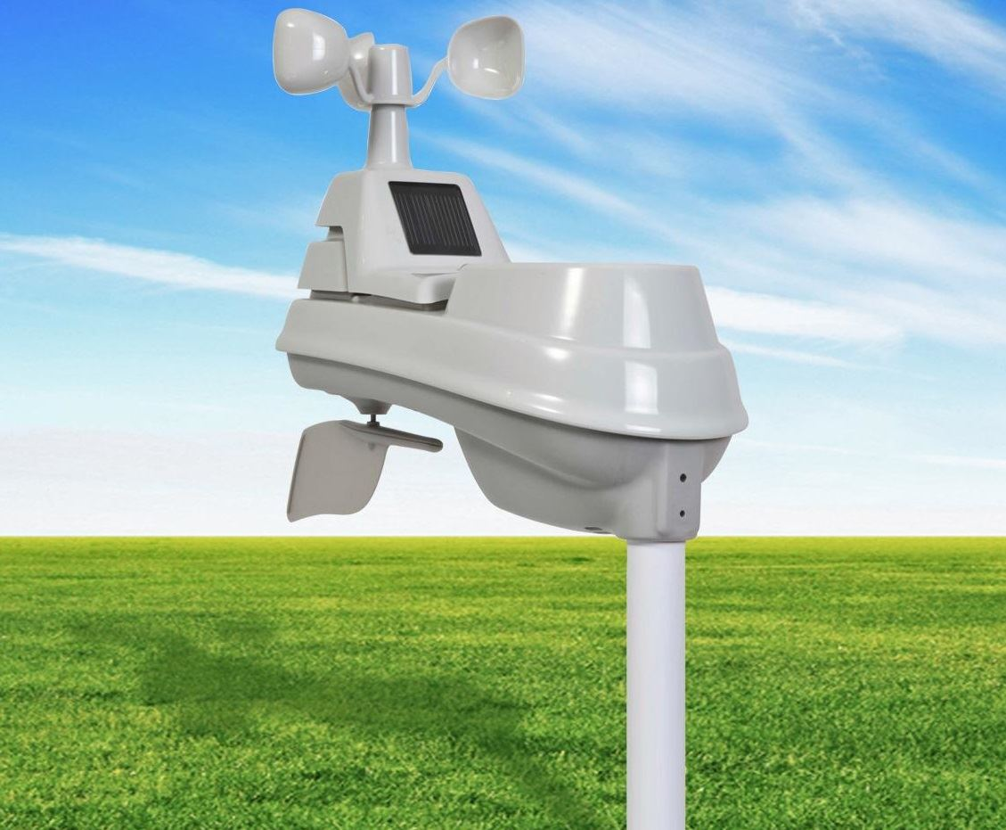 Picture of a weather station